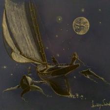 Commission.-Dream-Sail.-20x26.-Chalk-pen-ink.-