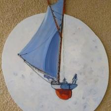 Moon dream.20x15.acrylic on wood. 310