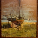 Watching & Waiting~18in x 21in~oil~$400