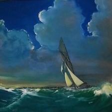 Sea green dream. Oil. 16x24.600_1