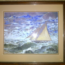 Blustery Day~17in x 20in~oil $200